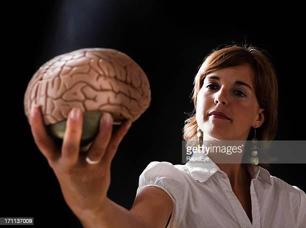 Brainy woman