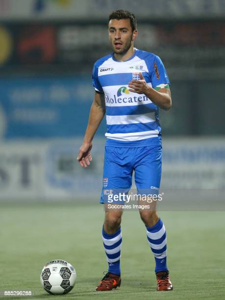 Bram van Polen of PEC Zwolle during the Dutch Eredivisie match between PEC Zwolle v FC Utrecht at the MAC3PARK Stadium on December 1 2017 in Zwolle...