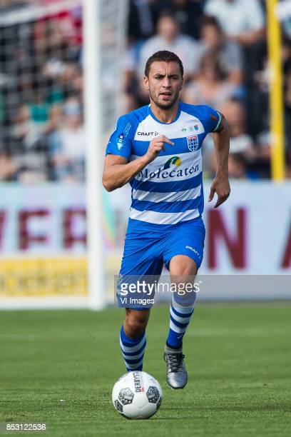 Bram van Polen of PEC Zwolle during the Dutch Eredivisie match between VVV Venlo and PEC Zwolle at Seacon stadium De Koel on September 24 2017 in...