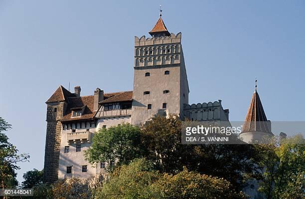 Bran castle Transylvania Romania 14th century