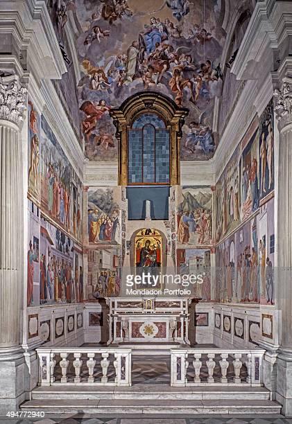 Brancacci Chapel by Masaccio Masolino da Panicale Fillippino Lippi Vincenzo Meucci 14251485 17461748 15th18th Century fresco Italy Tuscany Florence...