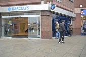 A branch of Barclay's Bank trading in Stockport England on Monday 26th November 2015