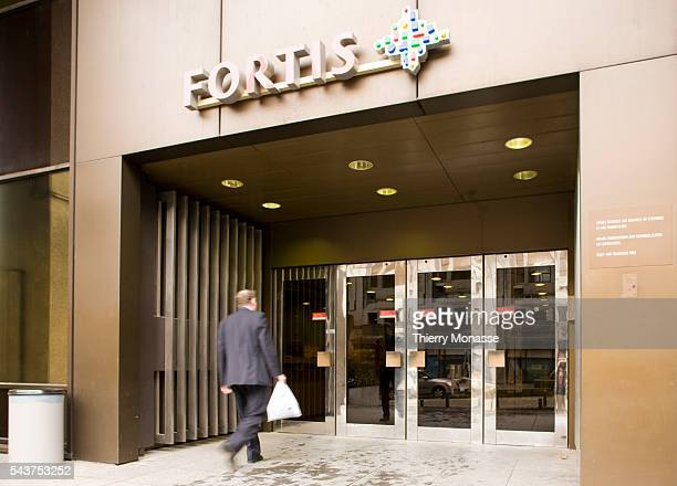 A branch of the embattled BelgianDutch financial group Fortis is pictured in the center of Brussels Dutch banking group ING on September 29 ruled out...