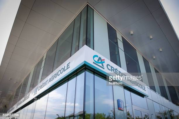 A branch of the French Credit Agricole bank is seen in Warsaw Poland on 5 August 2017