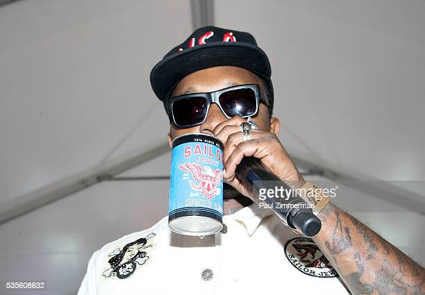 Brand Ambassador Daniel 'Gravy' Thomas attends the Sailor Jerry Fleet Week Block Party 2016 at Pier 84 on May 29 2016 in New York City