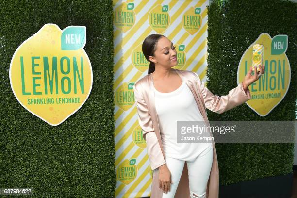 Brand Ambassador Tia Mowry attends 'Picnic Time Off' to celebrate the global launch of LEMON LEMON on the Hornblower Infinity yacht on May 24 2017 in...