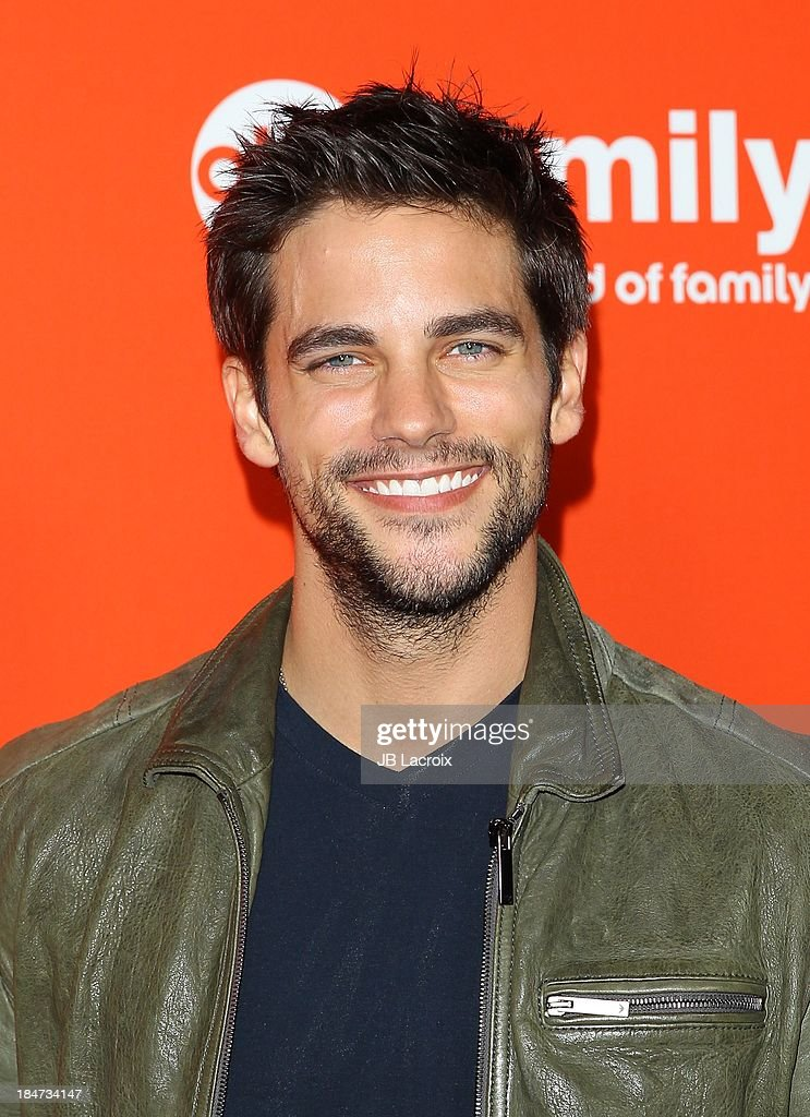 Brand Daugherty attends the 'Pretty Little Liars' Special Halloween Episode Premiere Party held at Hollywood Forever on October 15, 2013 in Hollywood, California.