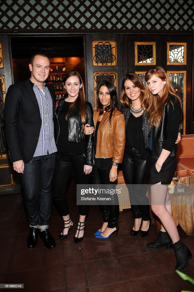 J Brand guests attend an intimate dinner event hosted by Elle Magazine and J Brand at Petit Ermitage Hotel on September 25, 2013 in West Hollywood, California.