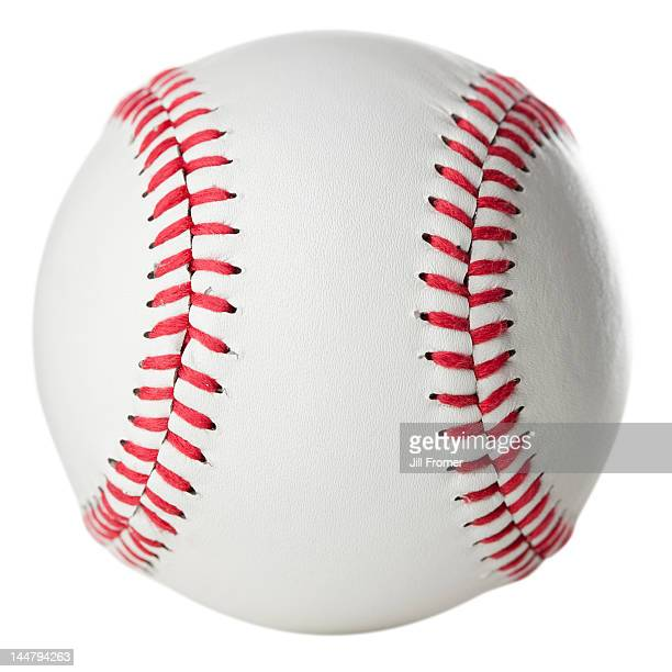 Brand new, clean baseball, isolated on white.