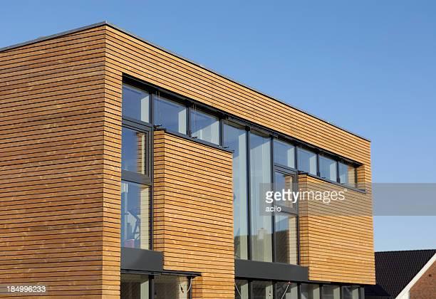 Nouvelle maison en bois cubistic prévu
