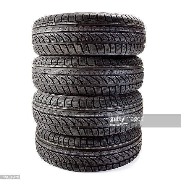 Nouveaux pneus d'hiver