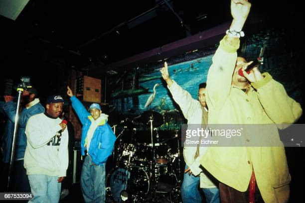 Brand Nubian performs at Wetlands New York New York February 7 1991