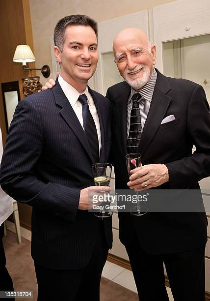 Brand President Breguet North America Michael Nelson and actor Dominic Chianese attend Breguet Celebration of 10 Years on Madison Avenue on December...