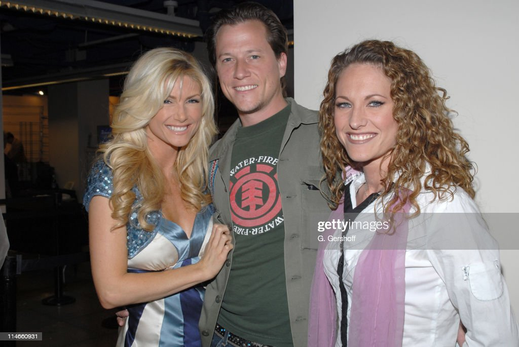 Brande Roderick, Corin Nemic and Jerri Manthey during 2006 Big Apple Comic Book Convention - Press Reception at Penn Plaza Pavilion in New York City, New York, United States.