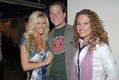 Brande Roderick Corin Nemic and Jerri Manthey during 2006 Big Apple Comic Book Convention Press Reception at Penn Plaza Pavilion in New York City New...
