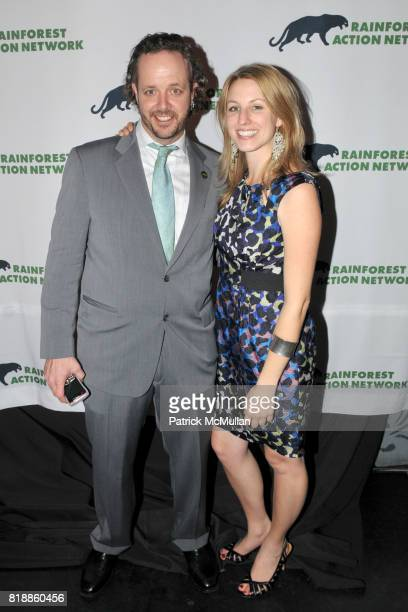 Branden Barber and Katie Steele attend RAINFOREST ACTION NETWORK's 25th Anniversary Benefit Hosted by CHRIS NOTH at Le Poisson Rouge on April 29 2010...
