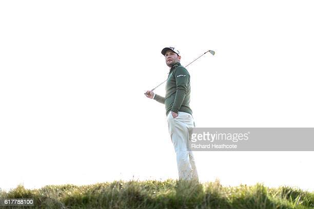 Branden Grace of South Africa poses for a portrait at The Old Course on October 4 2016 in St Andrews Scotland