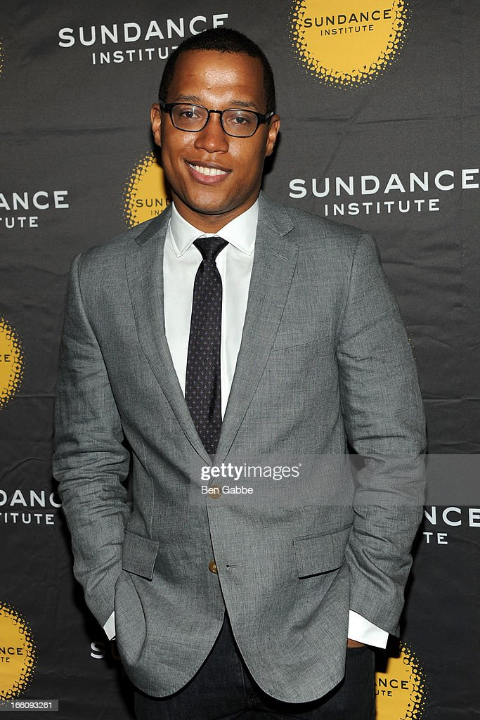 Branden Jacobs-Jenkins attends the 2013 Sundance Institute Theatre Program Benefit at Stephen Weiss Studio on April 8, 2013 in New York City.