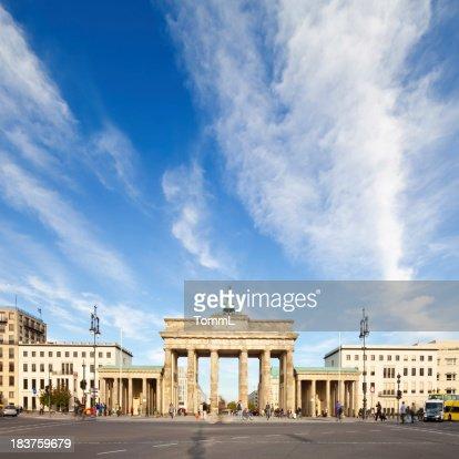 Brandenburg Gate, Backview