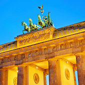 'Brandenburg Gate, Berlin'