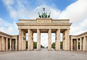 Brandenburger Tor, in Berlin, Germany