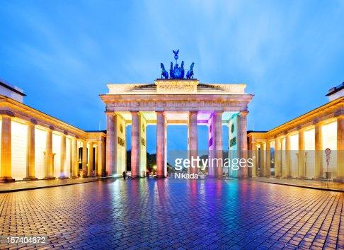 Brandeburgo foto e immagini stock getty images - Berlino porta di brandeburgo ...