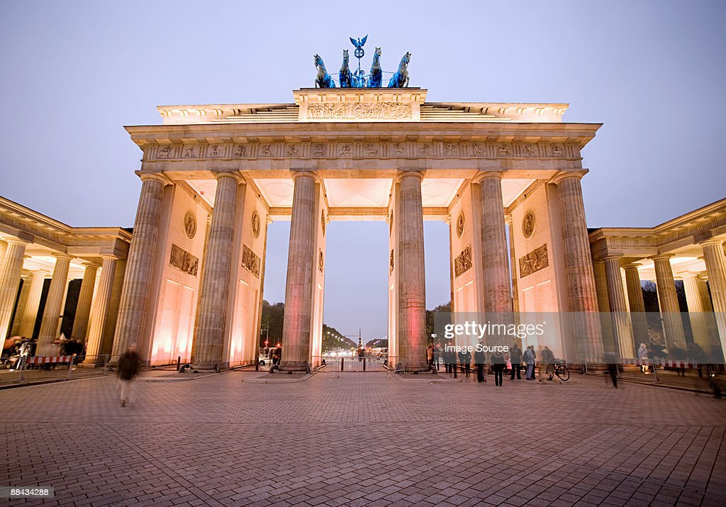 Brandenburg gate : Stock Photo