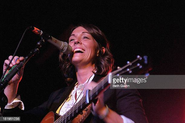 Brandi Carlile attends the 2012 Americana Music Festival In The Clubs on September 12 2012 in Nashville Tennessee