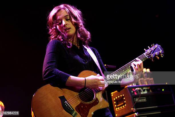 Brandi Carlile performing to the sold out crowd at Bowery Ballroom on Friday night April 27 2007