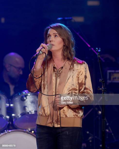 Brandi Carlile performs in concert during the Austin City Limits 2017 Hall of Fame Inductions at ACL Live on October 25 2017 in Austin Texas