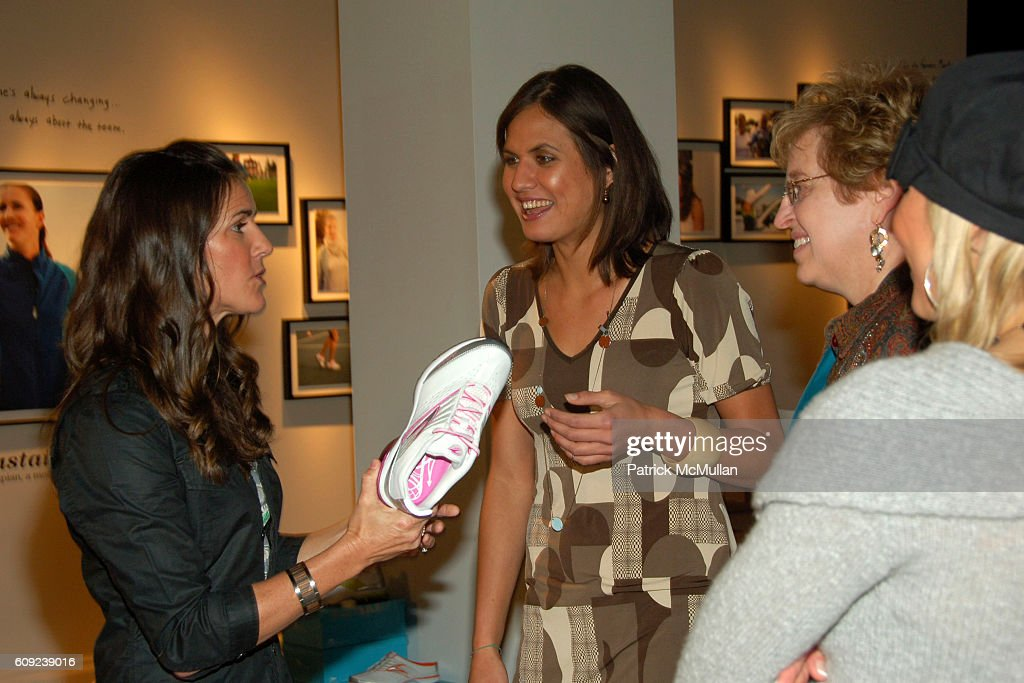 Brandi Chastain and Logan Tom attend TAILWIND Product Showcase Featuring Brandi Chastain at Lotus Space on February 26, 2007 in New York City.