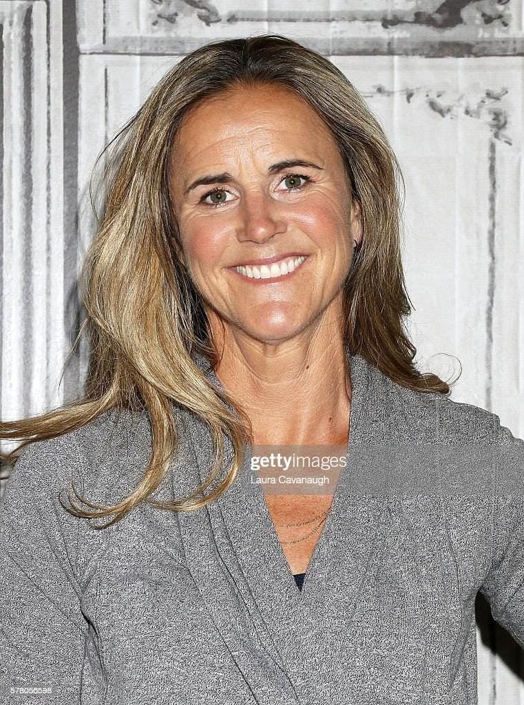 Brandi Chastain attends AOL Build Speaker Series to discuss the Olympic Games at AOL HQ on July 20, 2016 in New York City.