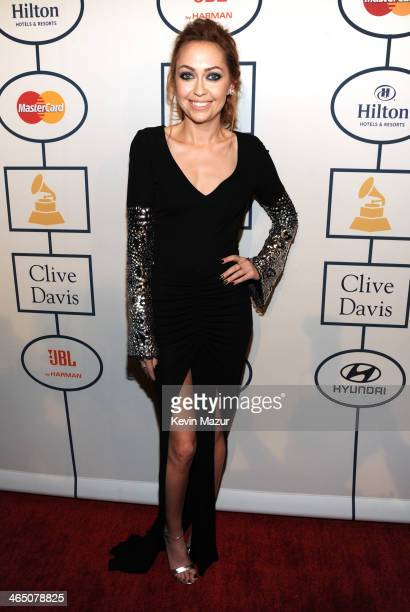 Brandi Cyrus attends the 56th annual GRAMMY Awards PreGRAMMY Gala and Salute to Industry Icons honoring Lucian Grainge at The Beverly Hilton on...