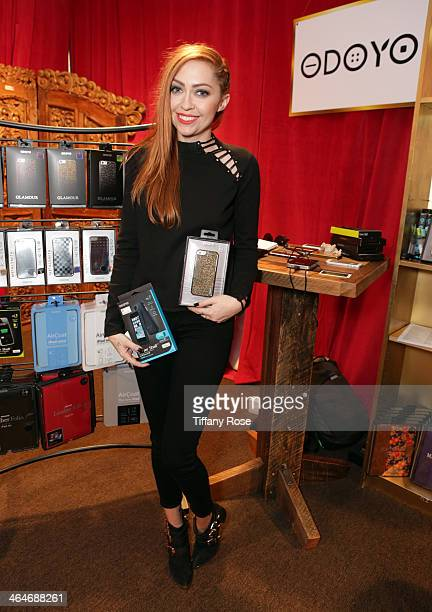 Brandi Cyrus attends the GRAMMY Gift Lounge during the 56th Grammy Awards at Staples Center on January 23 2014 in Los Angeles California