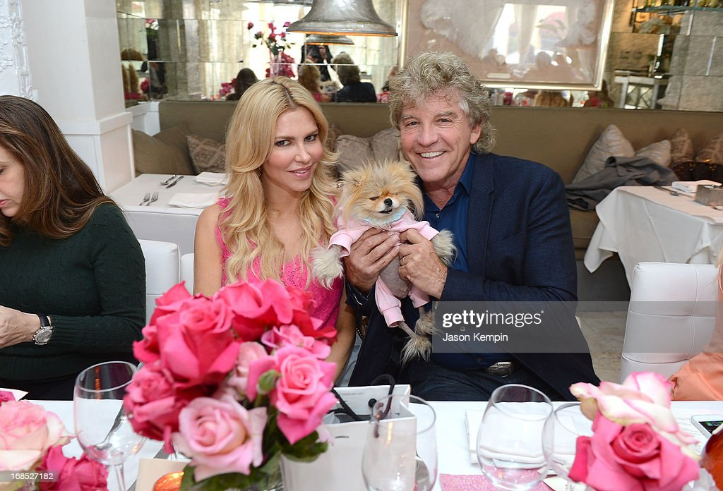 Brandi Glanville and Kenneth Todd attend the PANDORA jewelry Mothers Day celebration with the Vanderpumps on May 6, 2013 in Beverly Hills, California.
