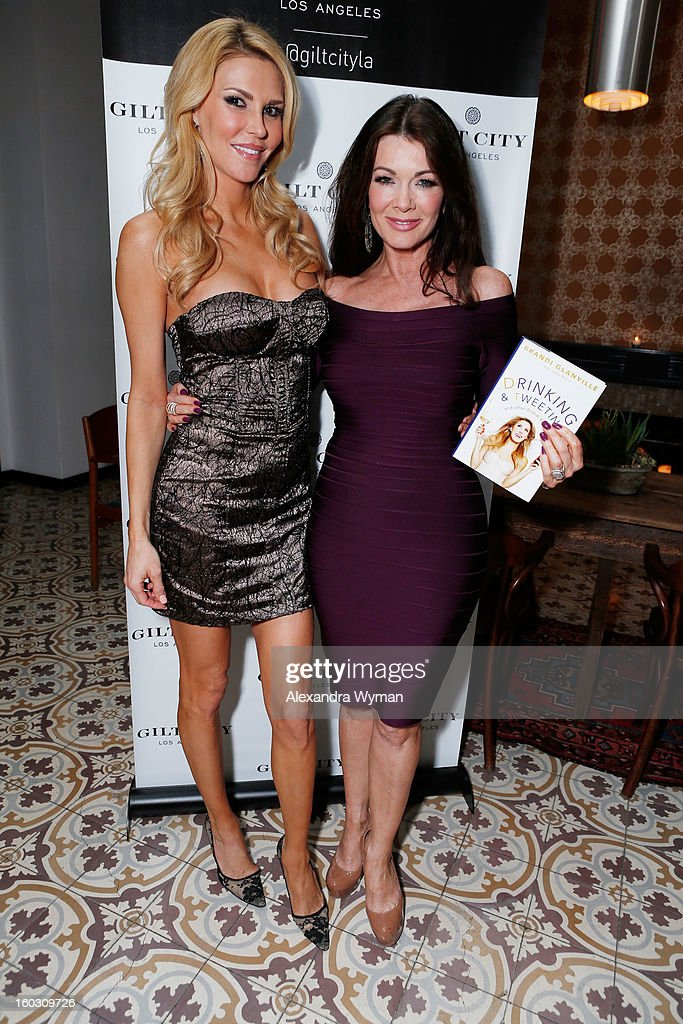 Brandi Glanville and Lisa Vanderpump attend Gilt City Los Angeles (giltcity.com) celebrates 'The Real Housewives of Beverly Hills' star Brandi Glanville and her soon-to-be-published book 'Drinking & Tweeting and other Brandi Blunders' with a special members-only, sneak-peek book party at Palihouse in West Hollywood on Monday 28 January 2013