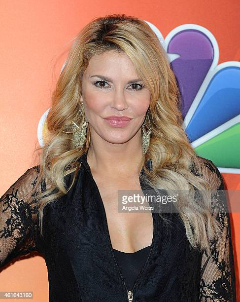 Brandi Glanville arrives at NBCUniversal's 2015 Winter TCA Tour Day 2 at The Langham Huntington Hotel and Spa on January 16 2015 in Pasadena...