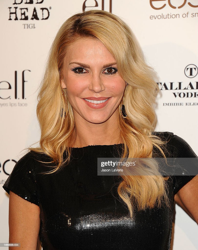 Brandi Glanville attends OK! Magazine's annual 'So Sexy' party at SkyBar at the Mondrian Los Angeles on April 17, 2013 in West Hollywood, California.