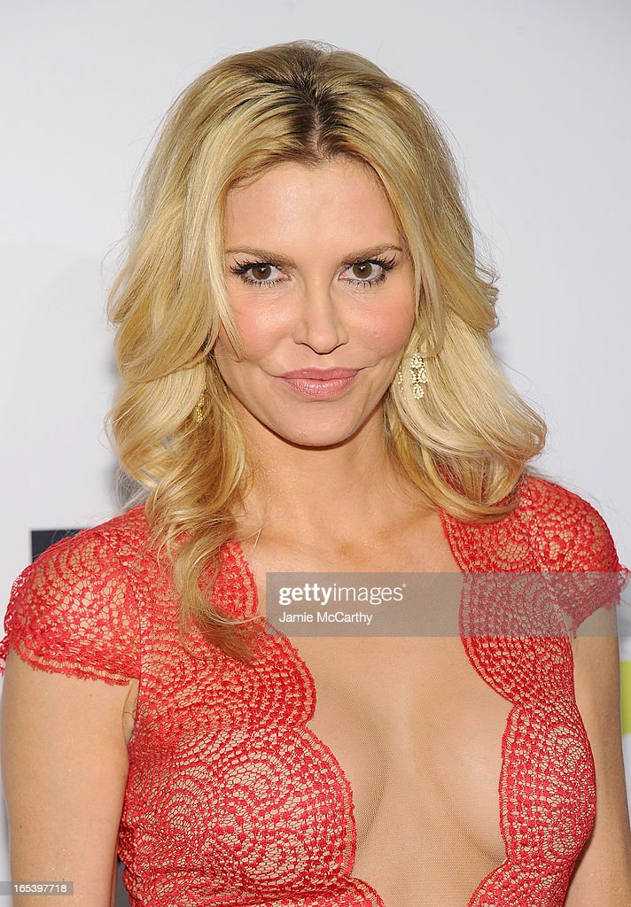 Brandi Glanville attends the 2013 Bravo New York Upfront at Pillars 37 Studios on April 3, 2013 in New York City.