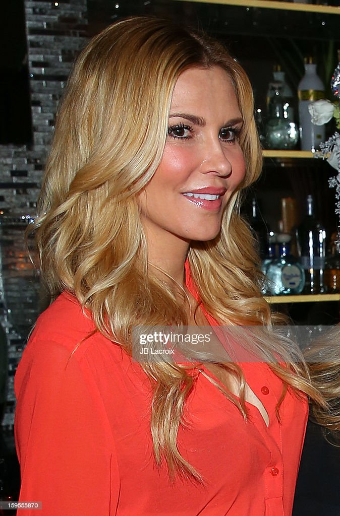 Brandi Glanville attends the KIIS FM And Oranum Psychics Girls Night Out at SUR Lounge on January 15, 2013 in Los Angeles, California.