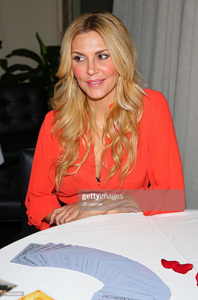 <a gi-track='captionPersonalityLinkClicked' href=/galleries/search?phrase=Brandi+Glanville&family=editorial&specificpeople=841250 ng-click='$event.stopPropagation()'>Brandi Glanville</a> attends the KIIS FM And Oranum Psychics Girls Night Out at SUR Lounge on January 15, 2013 in Los Angeles, California.