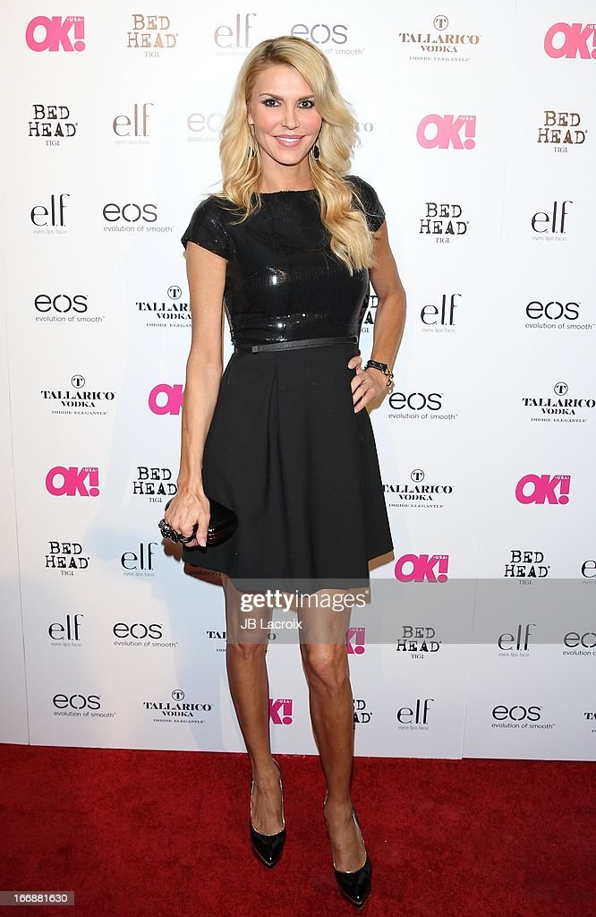 Brandi Glanville attends the OK! Magazine's 'So Sexy' party at Mondrian Los Angeles on April 17, 2013 in West Hollywood, California.