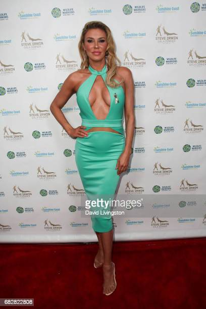 Brandi Glanville attends the Steve Irwin Gala Dinner at the SLS Hotel at Beverly Hills on May 13 2017 in Los Angeles California