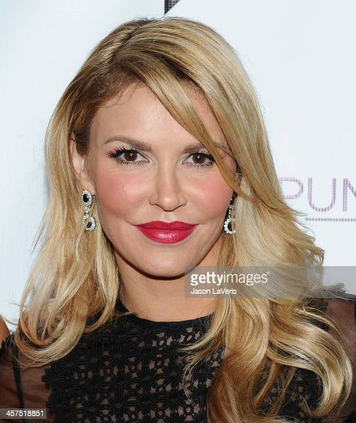 Brandi Glanville attends the 'The Real Housewives of Beverly Hills' and 'Vanderpump Rules' premiere party at Boulevard3 on October 23 2013 in...