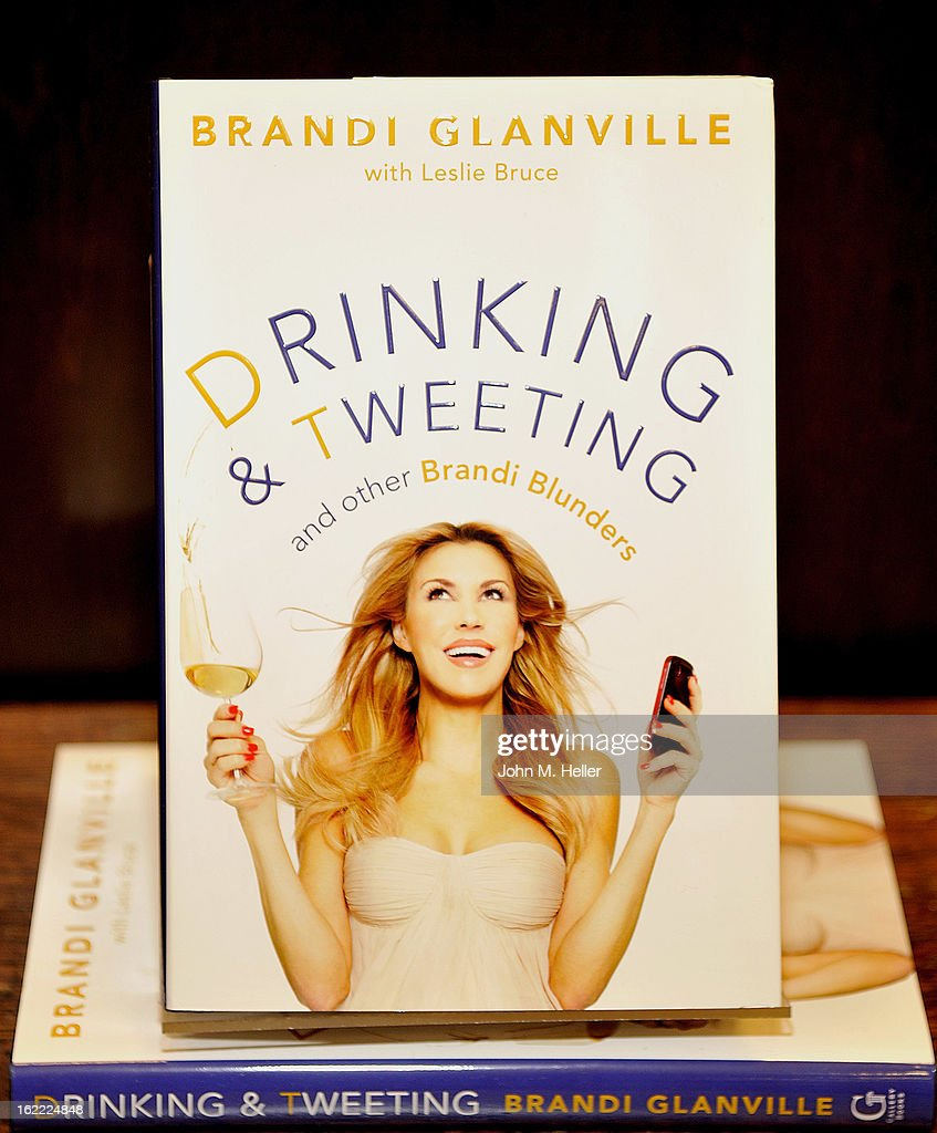 <a gi-track='captionPersonalityLinkClicked' href=/galleries/search?phrase=Brandi+Glanville&family=editorial&specificpeople=841250 ng-click='$event.stopPropagation()'>Brandi Glanville</a> of The Real Housewives of Beverly Hills signs copies of her new book 'Drinking and Tweeting' at the Barnes & Noble bookstore at The Grove on February 20, 2013 in Los Angeles, California.