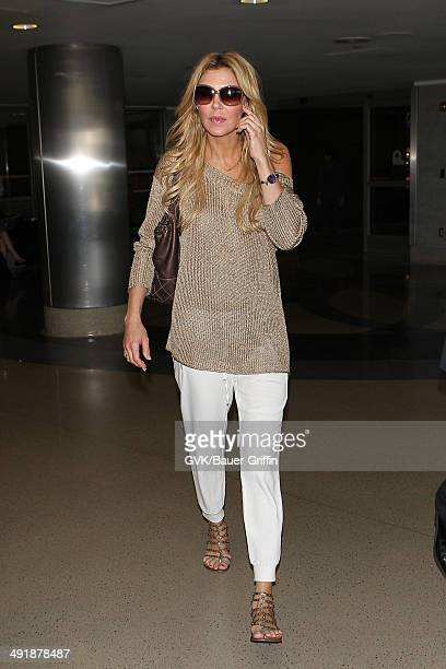 Brandi Glanville seen at LAX on May 17 2014 in Los Angeles California