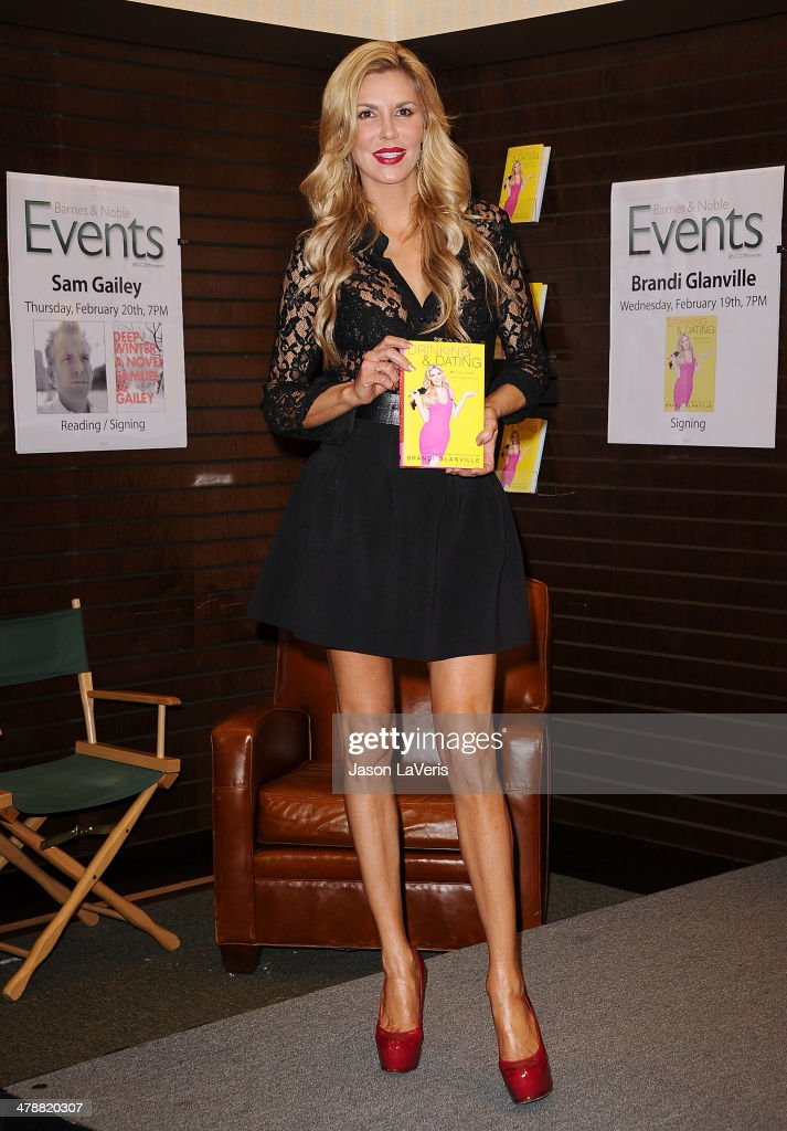 "Brandi Glanville Book Signing For ""Drinking & Dating"""