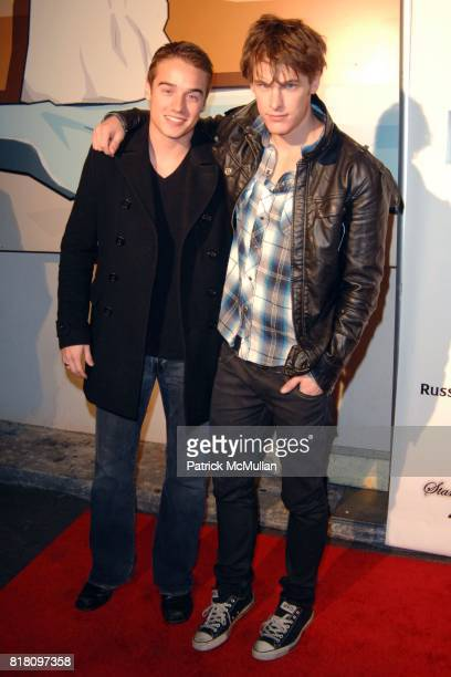 Brando Eaton and Grant Harvey attend OFFICIAL Film WRAPPARTY for Stardust Pictures BFF Baby at The Colony on November 17 2010 in Hollywood California