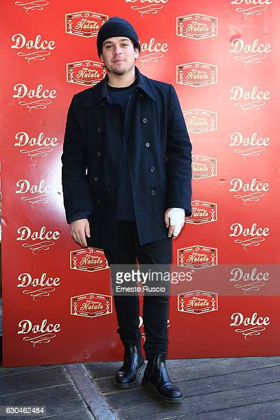 Brando Pacitto attends the 'Fantastico Dolce Natale' Charity Lunch at Dolce restaurant on December 23 2016 in Rome Italy