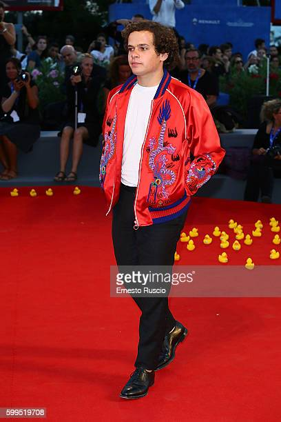 Brando Pacitto attends the premiere of 'Piuma' during the 73rd Venice Film Festival at Sala Grande on September 5 2016 in Venice Italy